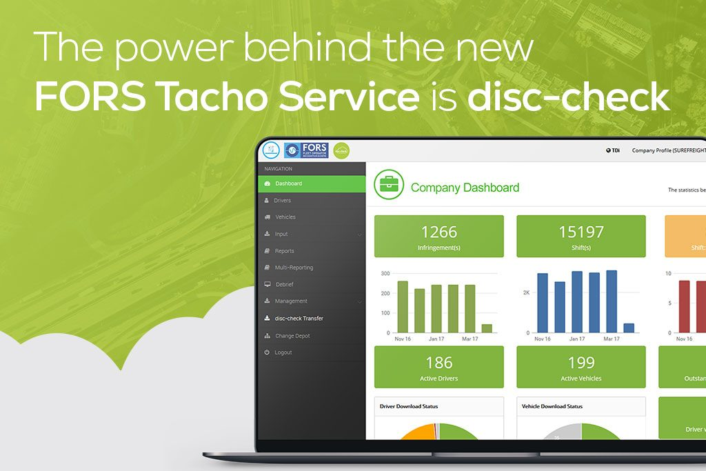 TDi FORS Tacho Service disc-check